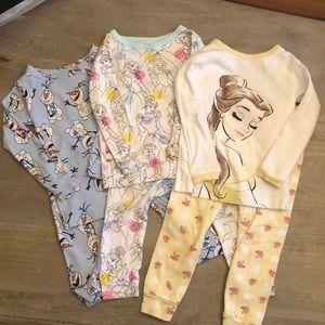 Baby Gap Disney Pajamas